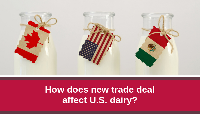 How does the new trade deal affect U.S. Dairy_
