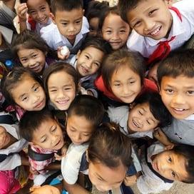 Southeast Asian kids
