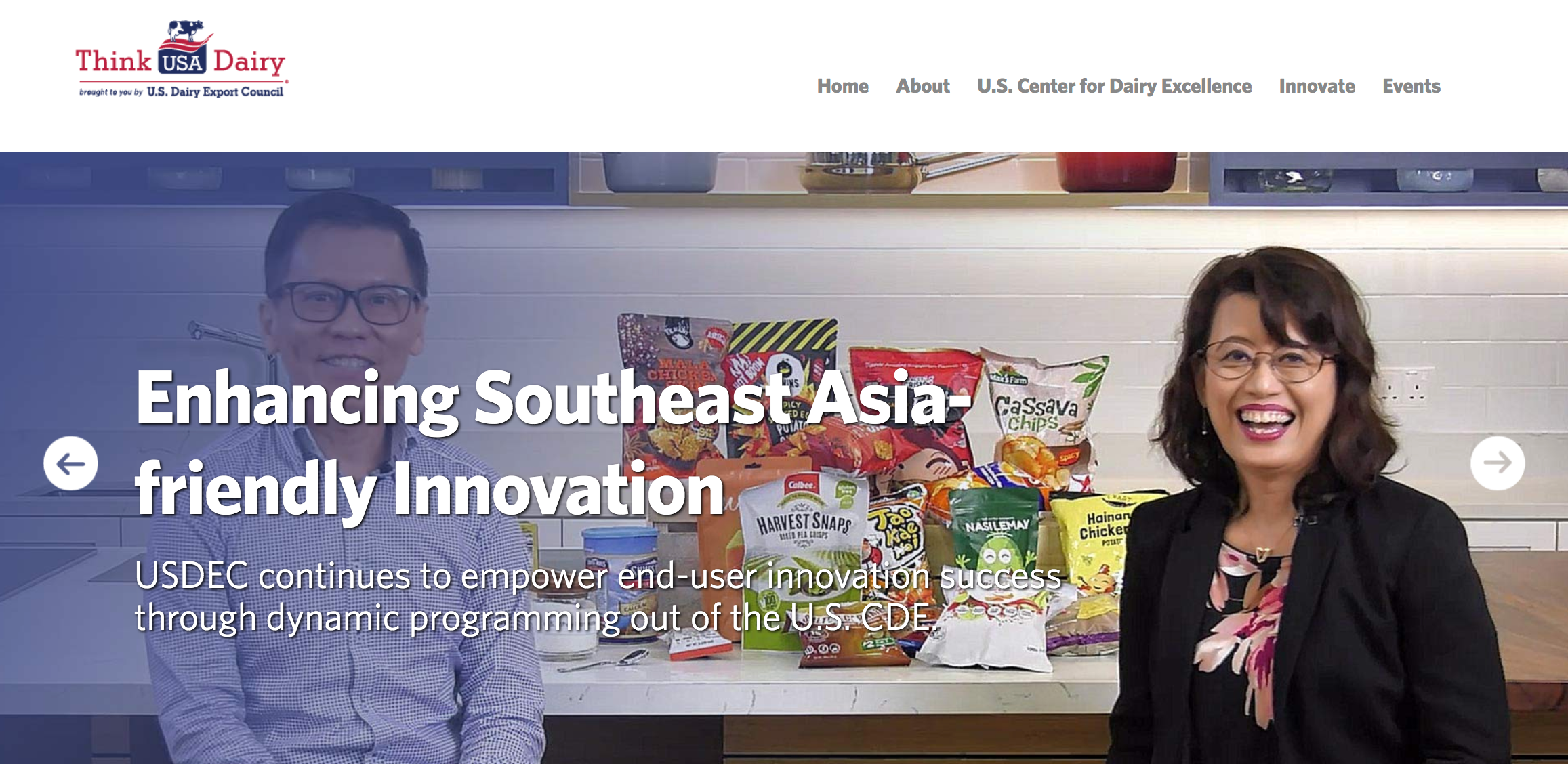 The U.S. Dairy Export Council officially opened the U.S. Center for Dairy Excellence in Singapore.